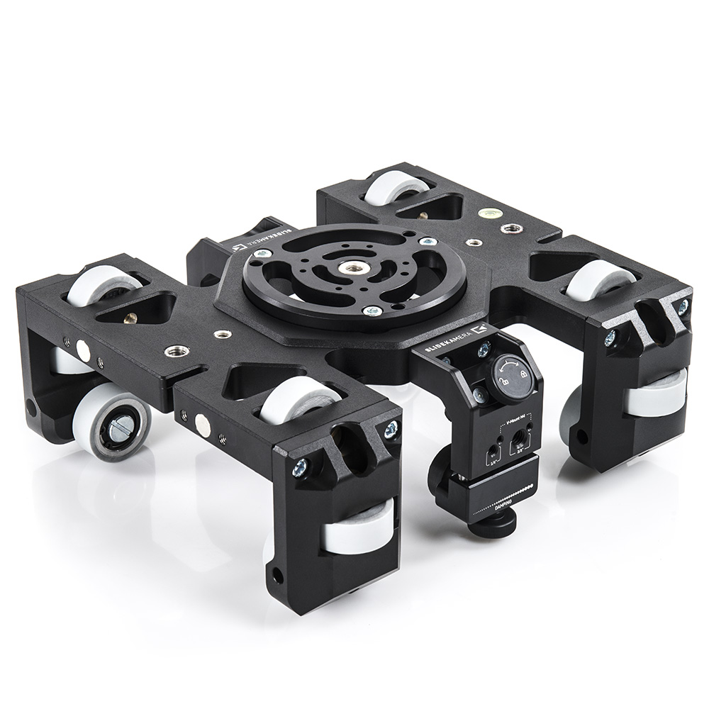 ATLAS MODULAR SLIDER DOLLY is equipped with 12 wheels, made of a specialy  chosen rubber. The positioning of the wheels allows the cart to freely  move, ...